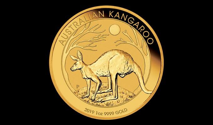 1 oz златна монета Австралийско кенгуру