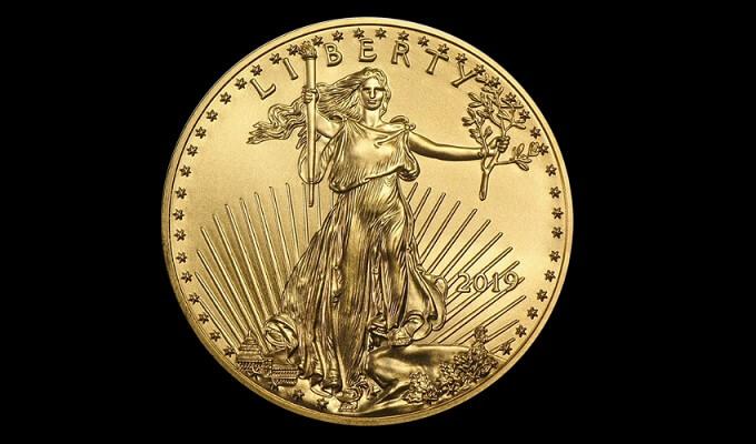 Златна монета 1 oz Американски орел