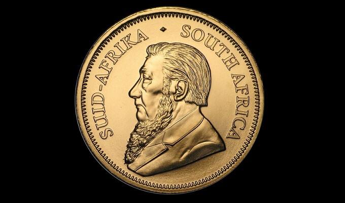 Златен Кругерранд монета 1 oz