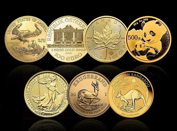 Големите 7 златни монети за инвестиция от igold