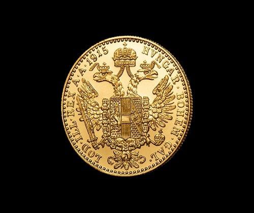 Златен дукат Франц Йосиф - гръб