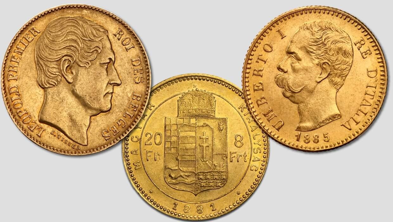 Златен Леополд, 8 форинта и италианско Умберто