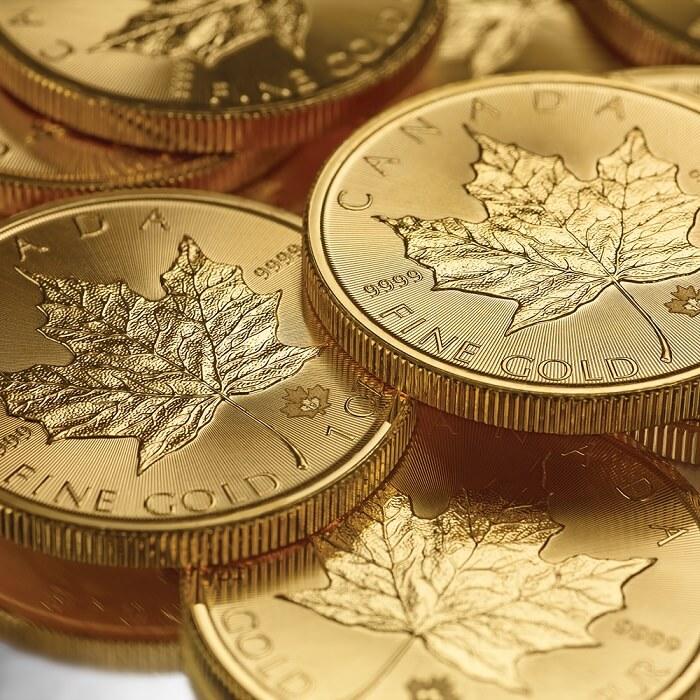 Канадски кленов лист - златни инвестиционни монети