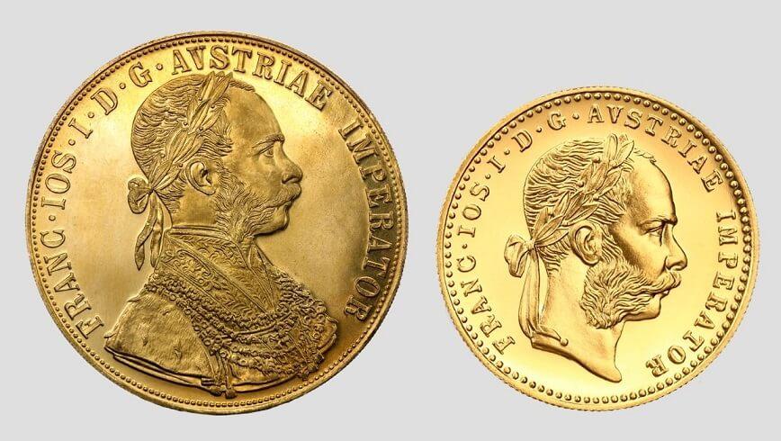 Австрийски дукати император Франц Йосиф