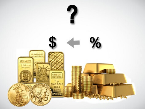Какво всъщност става с маржовете на физическото злато по света?