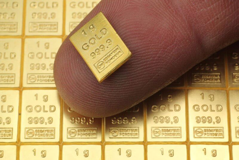 Инвестиционно злато - делимост